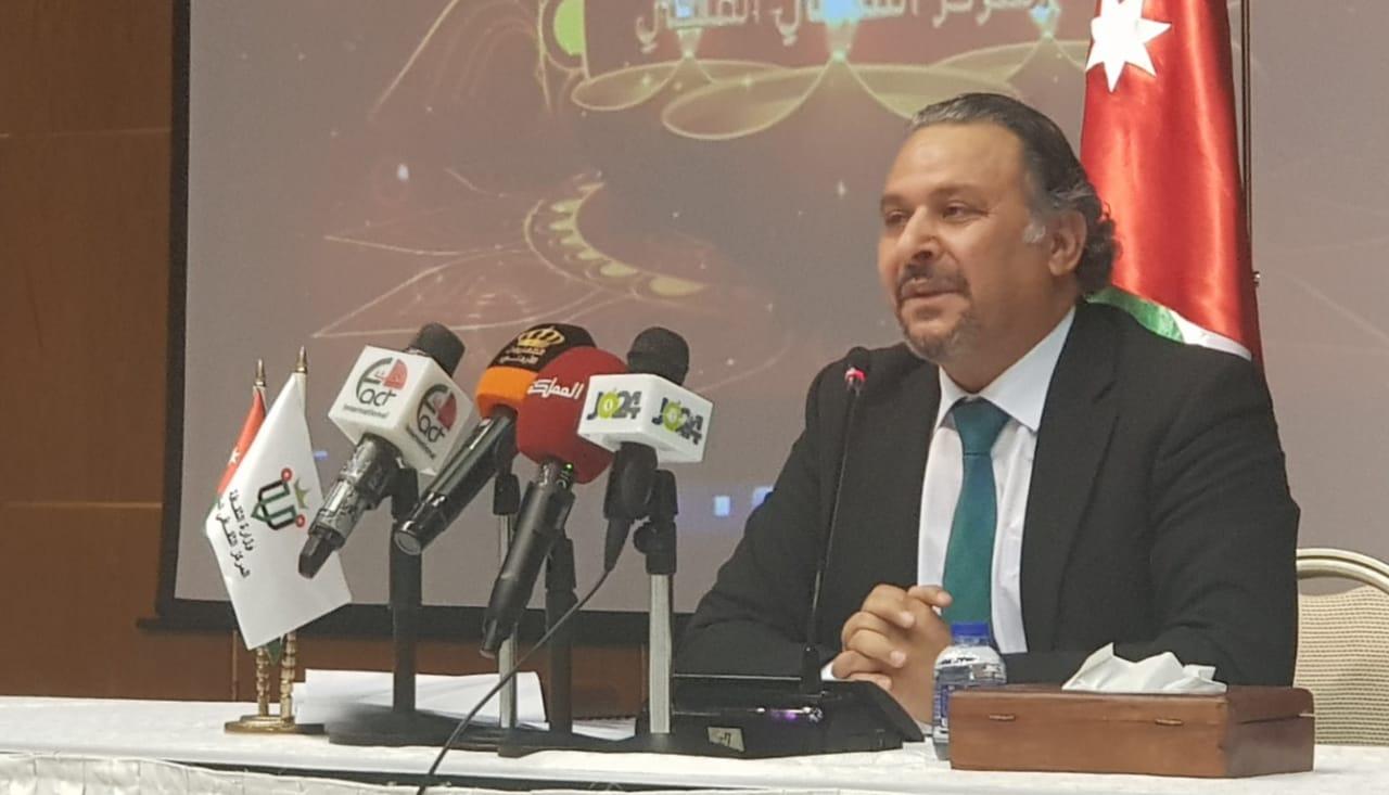 مدير المركز الثقافي الملكي المسرحي والقاص مفلح العدوان