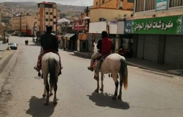 "Photo of ""خيول البترا الأثرية"" وسيلة تنقل سكان ونقل احتياجاتهم من الأسواق"