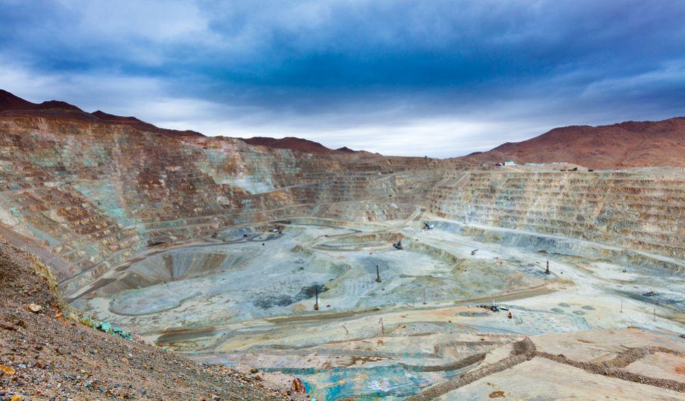 مناجم النحاس في تشيلي