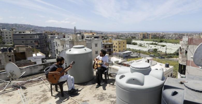 Photo of أسطح المباني جنة المحجورين في لبنان