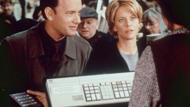 """ميغ رايان وتوم هانكس في الفيلم الشهير """"You've got mail"""""""