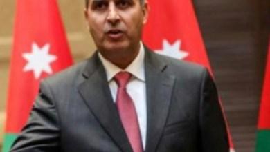 وزير البئية صالح الخرابشة، الملكف بإدارة وزارة الزراعة