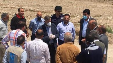 الخرابشة يتفقد أماكن الإيواء الخاصة في منطقة البحر الميت