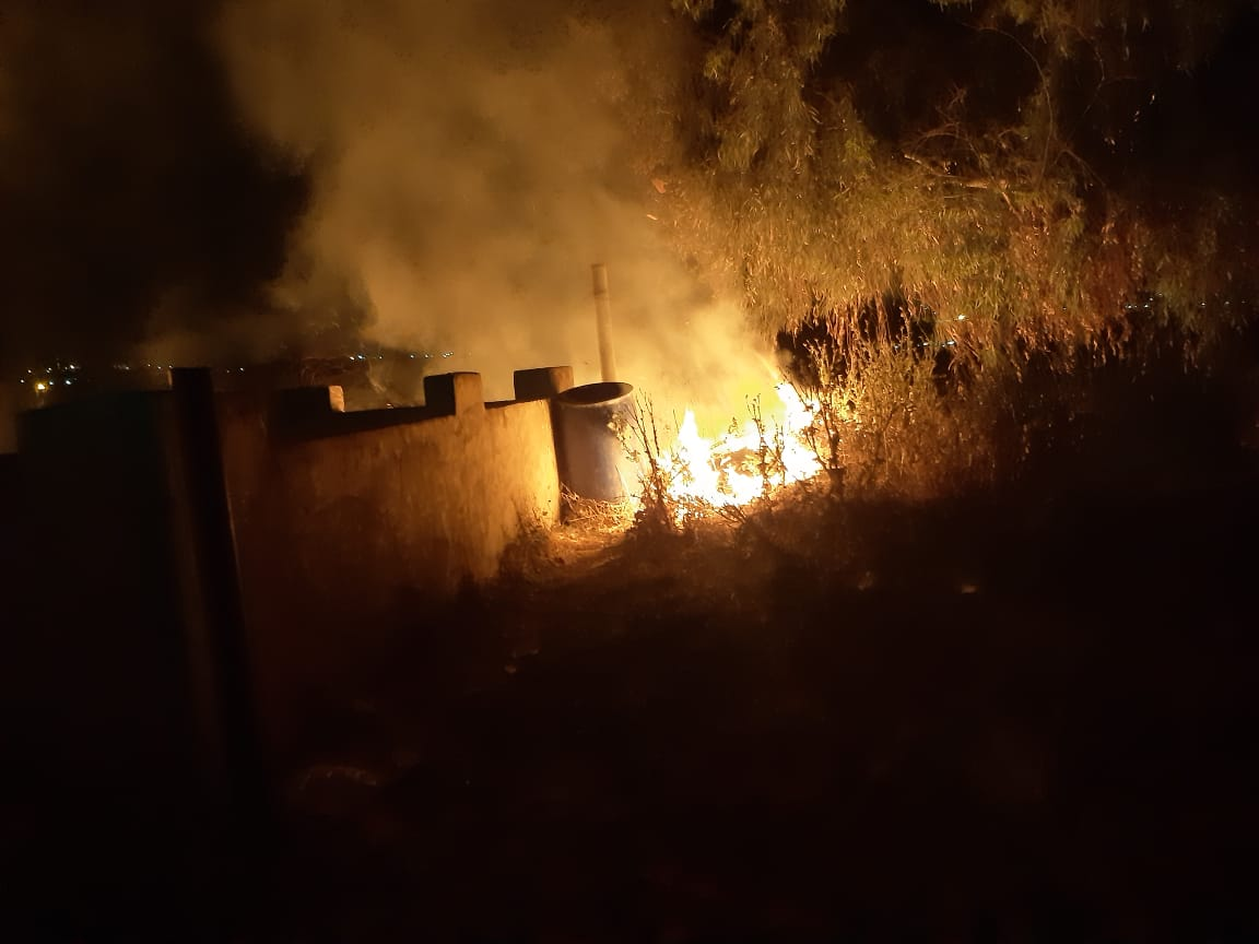 حريق مادبا