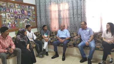 Photo of صبيح المصري يزور مستشفى الأمير هاشم العسكري