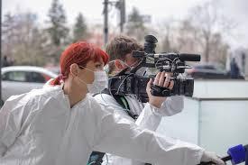 صحافيين بمواجهة كورونا