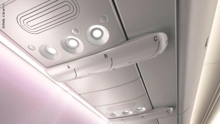 """يعزز """"AirShield"""" من الطريقة الفعالة لتدفق الهواء في الطائرات."""