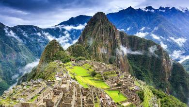 حضارة الإنكار في آثار ماتشو بيتشو في البيرو