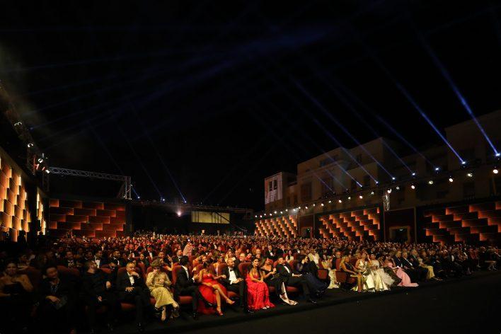 مسرح حفل افتتاح الدورة الثالثة للجونة السينمائي