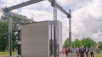 Photo of بلجيكا تشييد أول منزل من طابقين في أوروبا بخاصية طباعة ثلاثية الأبعاد
