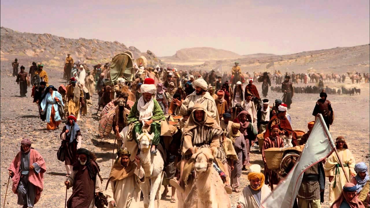 """مشهد من فيلم """"رحلة إلى مكة"""" (Journey to Mecca) عام 2009"""