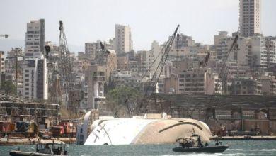 سبب الانفجار دمارا كبيرا في الميناء