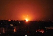 Photo of اعتداءات جوية إسرائيلية على قطاع غزة ردّاً على إطلاق بالونات حارقة