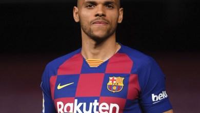 Photo of برشلونة يُعلن إصابة مارتن برايثوايت في عضلات الفخذ