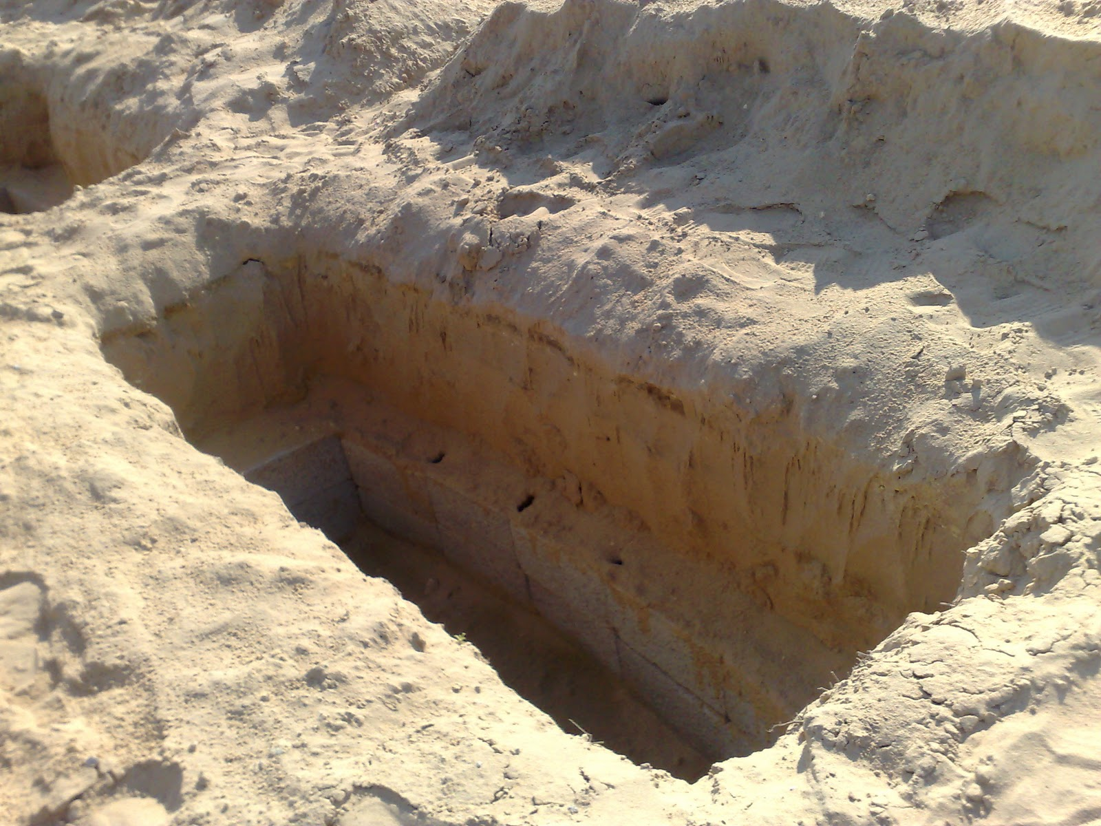 قبر محفور