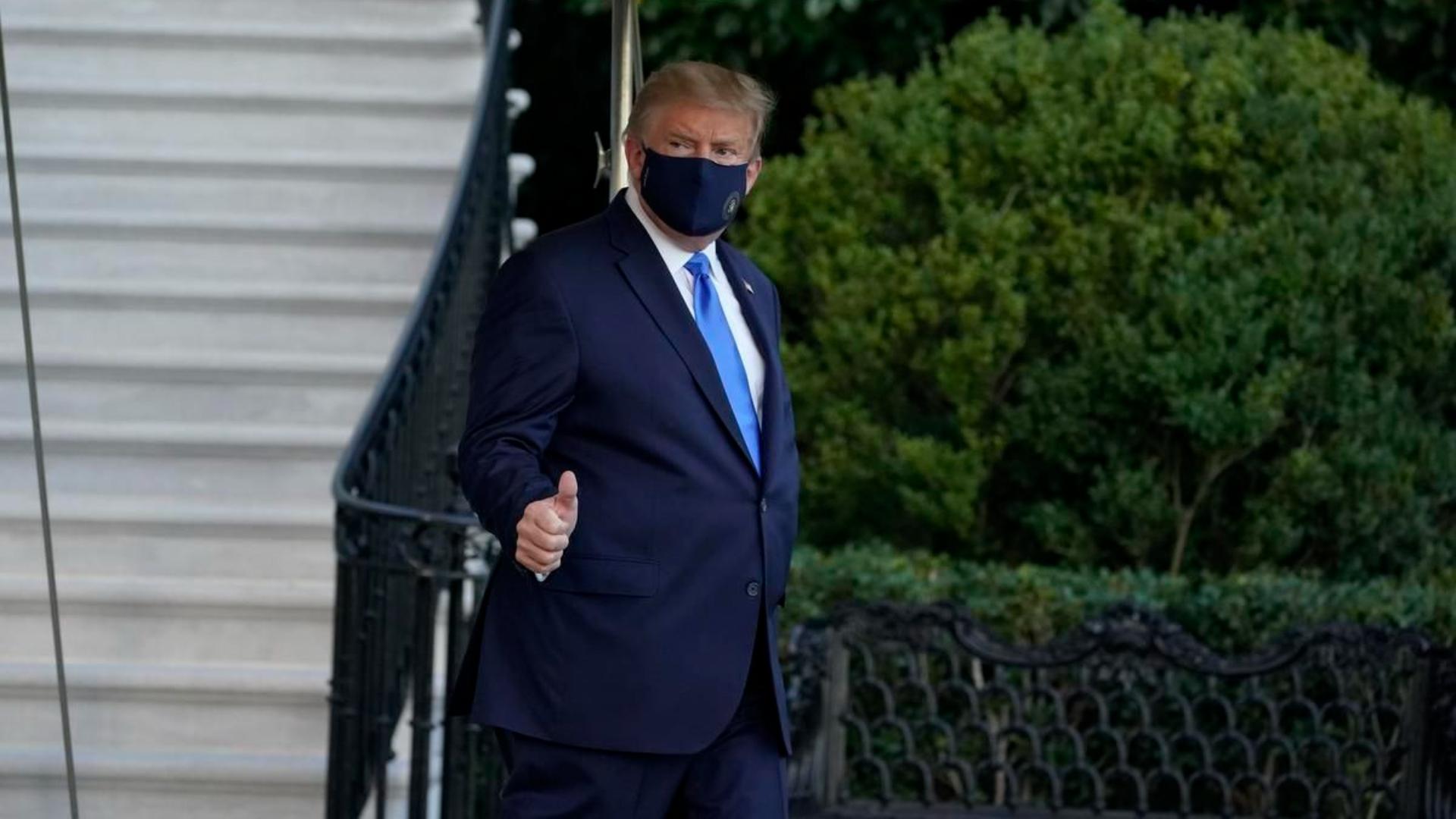 ترامب بعد إصابته بكورونا