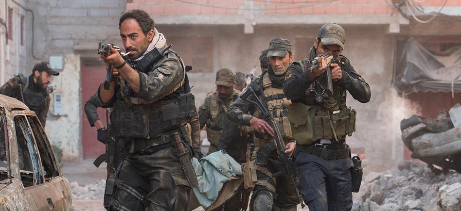 مشهد من فيلم الموصل