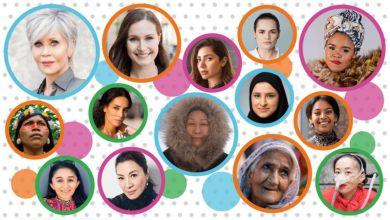 قائمة أكثر 100 امرأة مؤثرة لعام 2020