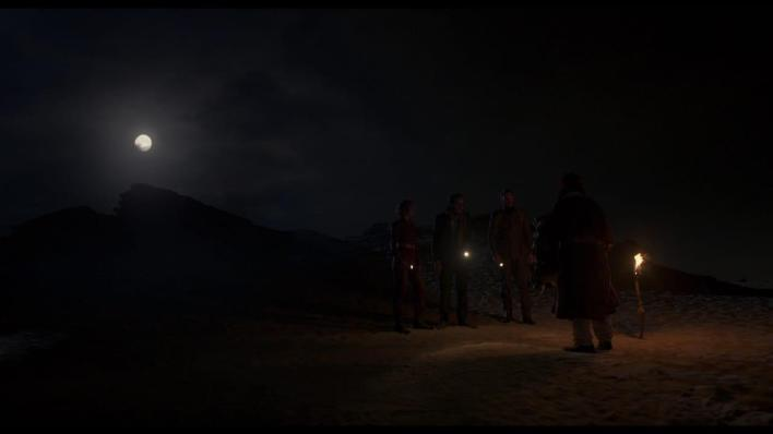 مشهد من مسلسل ما وراء الطبيعة بتوقيع احمد بشاري