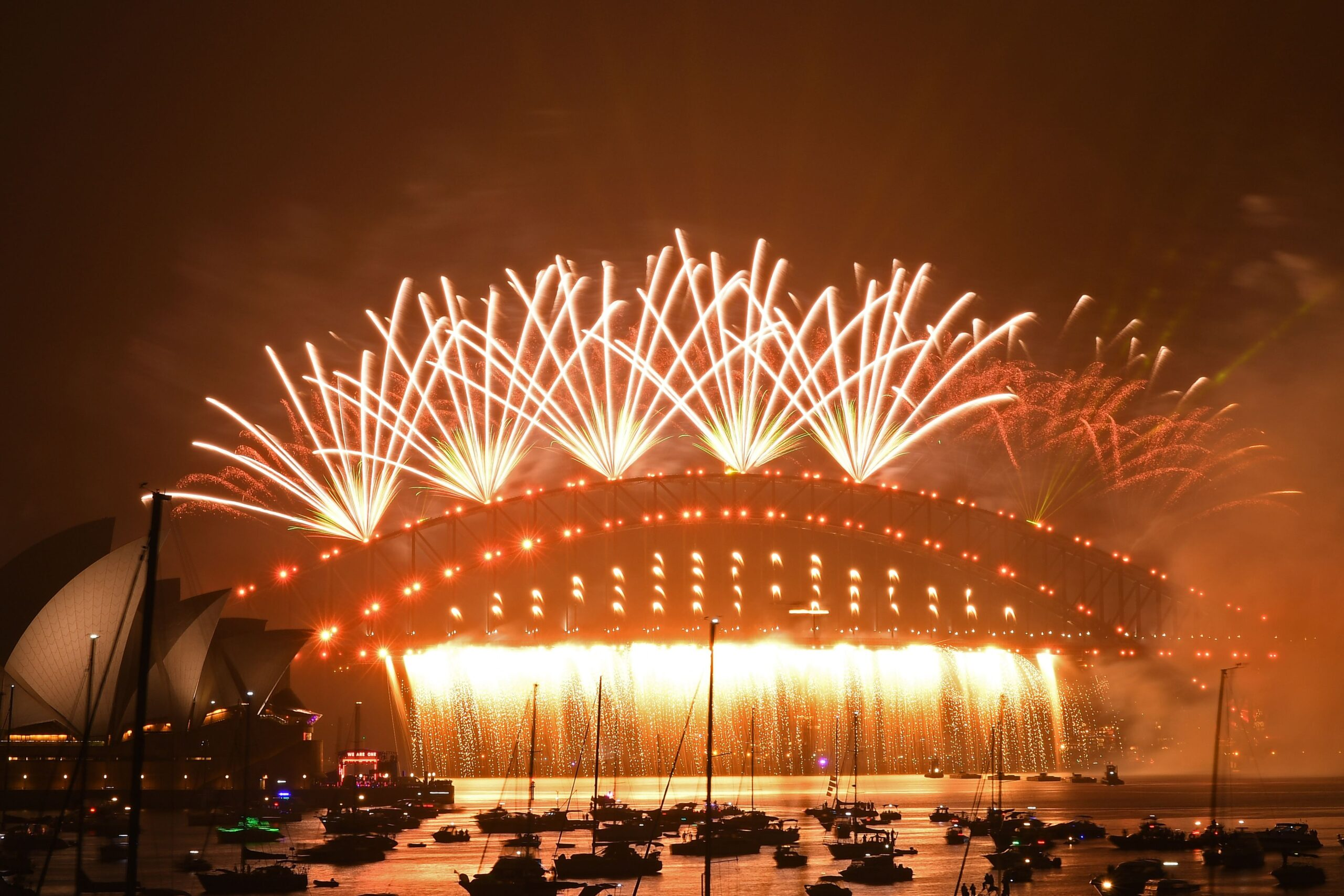 احتفالات استقبال العام 2021 من سيدني في استراليا- ا ف ب