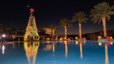 """Photo of سرايا العقبة تحتقل بإضاءة """"شجرة عيد الميلاد"""""""