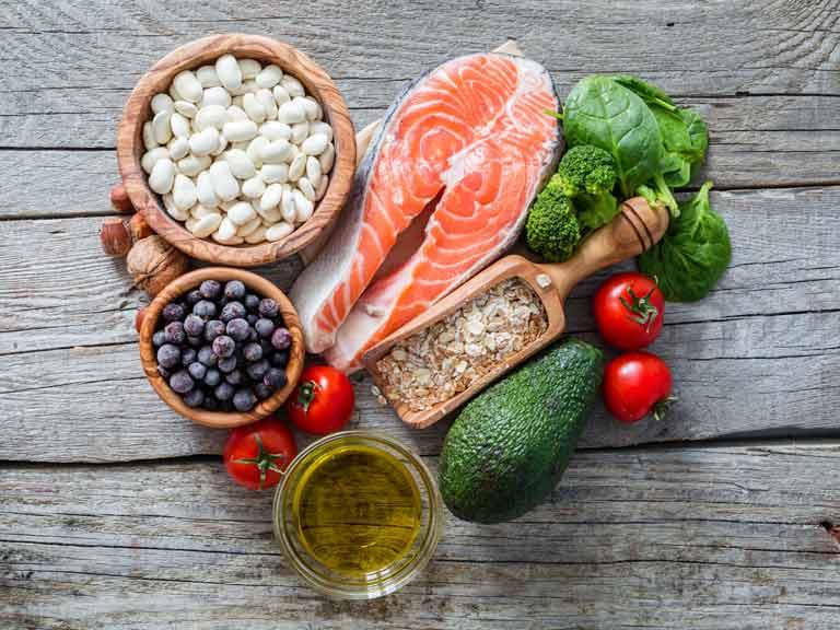 اطعمة صحية لقلب صحي