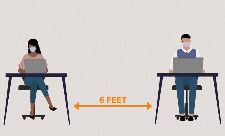 Photo of متران لا يكفيان.. نصيحة علمية جديدة للتباعد الاجتماعي