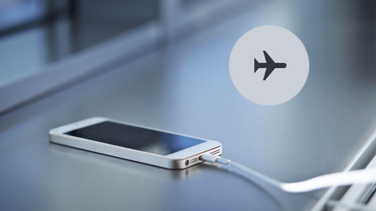 وضعية الطيران للهاتف اثناء النوم