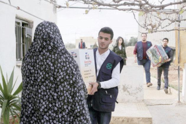 دار الدواء تطلق حملة شتاءك دافىء Alghad