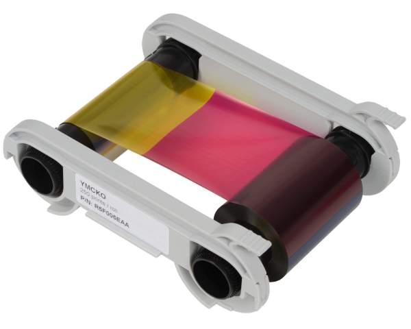 Evolis R5F008EAA YMCKO Colour Ribbon