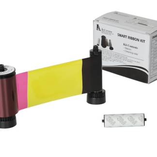 IDP Smart 650634 YMCKO Colour Ribbon (250 Prints)