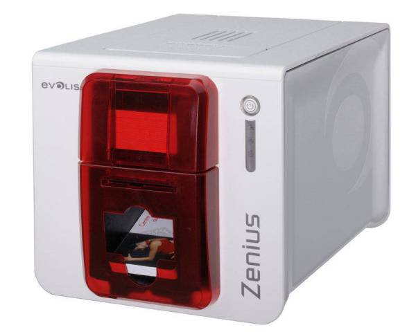 Evolis Zenius ID Card Printer (Single-Sided)