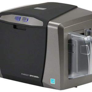 Fargo DTC1250e Single Sided Plastic Card Printer