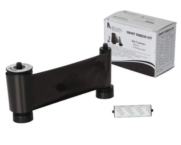 IDP Smart 650653 Black Ribbon (1200 Prints)