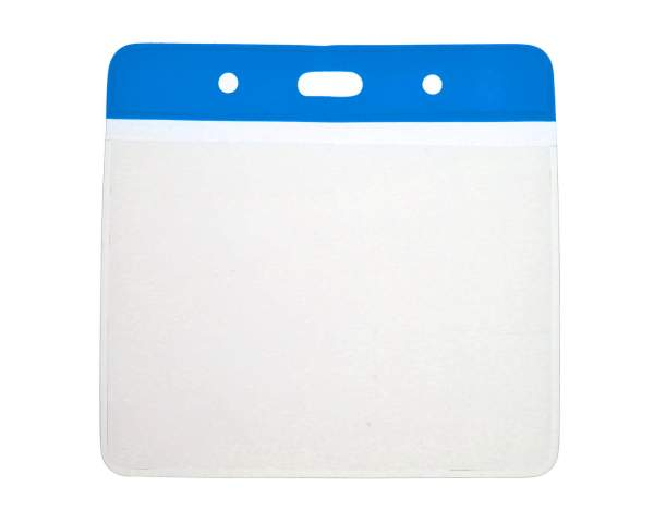 Vinyl Blue Top Card Holders - 102x83mm (Pack of 100)