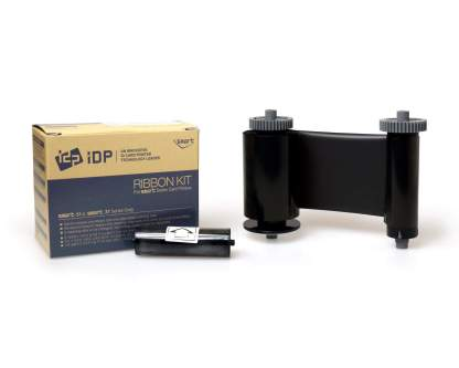 Smart 51 & 31 Monochrome Black Ribbon with Cleaning Roller, 1200prints - 659367
