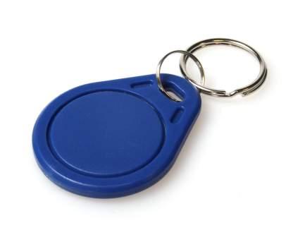 Blue MIFARE Classic® EV1 1K KeyFobs (Pack of 100)