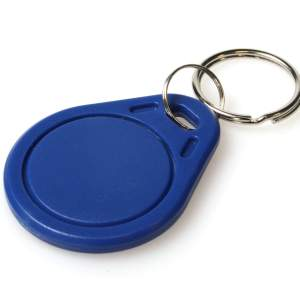 Blue MIFARE Classic® EV1 1K KeyFobs (Pack of 100)