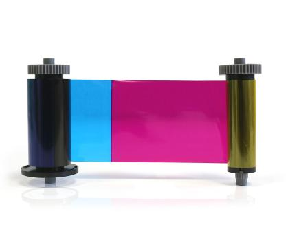 EasyBadge 2.0 YMCKO Full Colour Ribbon (100 Prints)