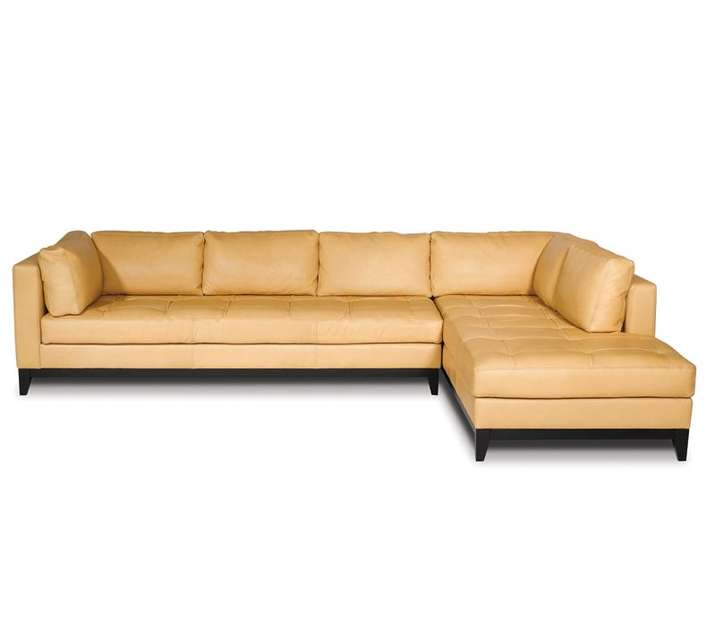 CRYSTAL COVE CUSTOM LEATHER SOFA 93 Algin Retro