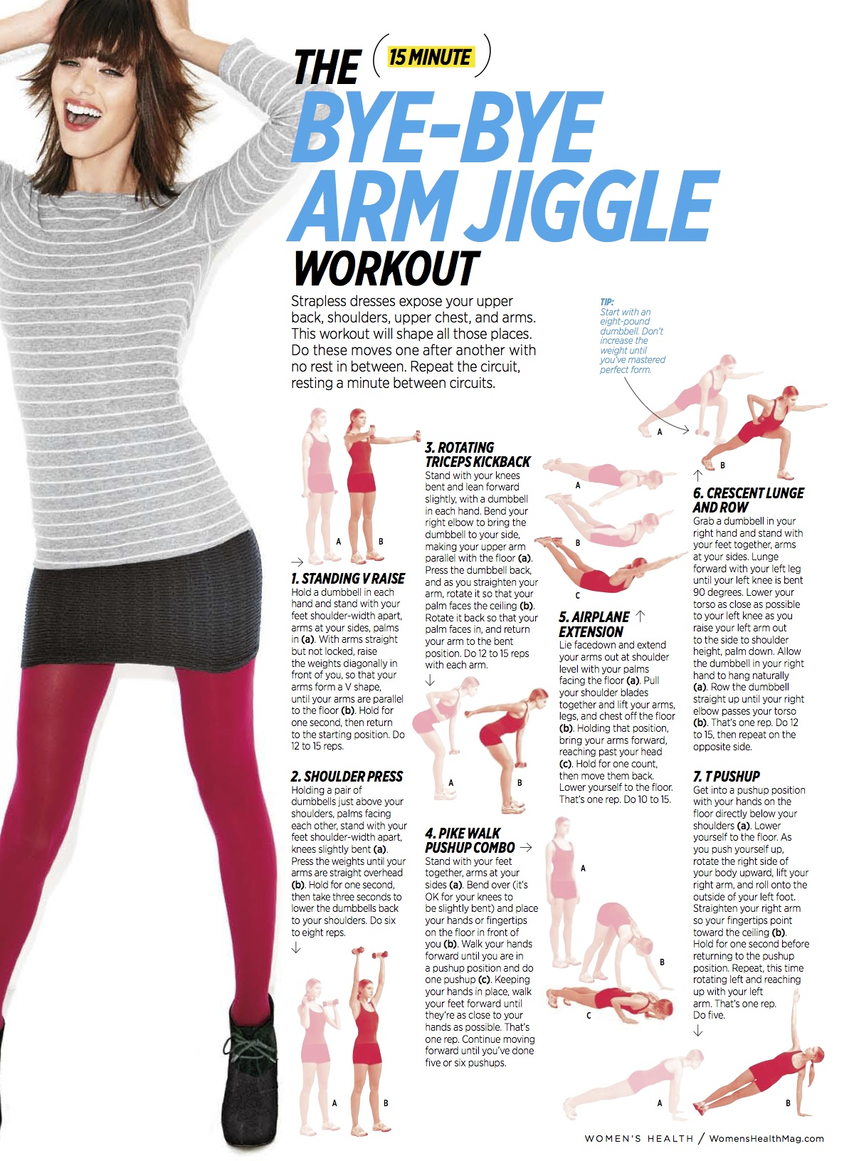 arm workouts for women with dumbbells best arms exercise