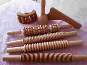 Masaža drvenim oklagijama