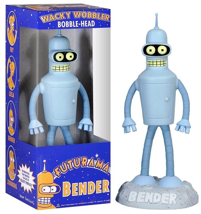 FUTURAMA BENDER deWacky Wobbler