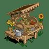 Garden Shed Categoria: Otra Clase: Harvest Storage Building Coste: 30,000 Se vende por: 1,500 Tamaño: 4x2