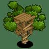 Treehouse Categoria: Otra Coste: 20 Se vende por: 3,000 Tamaño: 1x1 XP: 600