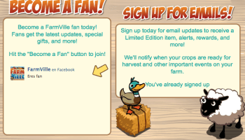 Fan Famrville y email updates