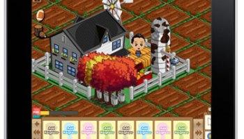 iPad Farmville