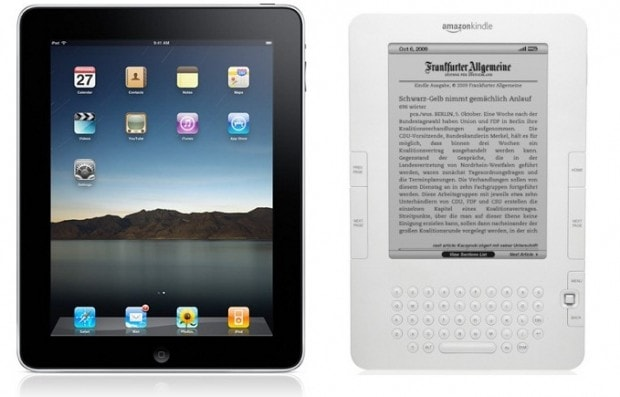 ipad y Kindle
