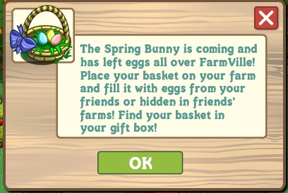 Spring Basket Farmville 1