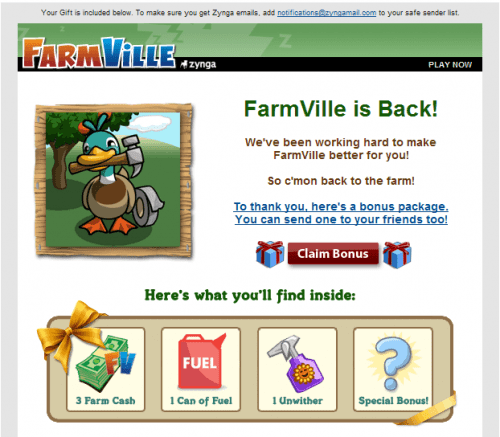 Farmville Mail